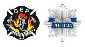 Współpracujemy z OSP i z Policją